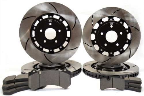 Racingbrake Two-Piece Disc front & rear Kit forMercedes E63 AMG 2003-09 & CLS63 AMG 2007-11